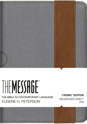 Message Remix 2.0 (Numbered Edition) Grey/Tan Imit