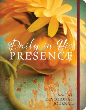 Daily In His Presence: A 365-Day Devotional Journa