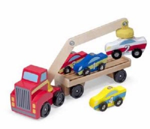 Magnetic Car Loader (6 Pieces) (Ages 3+)