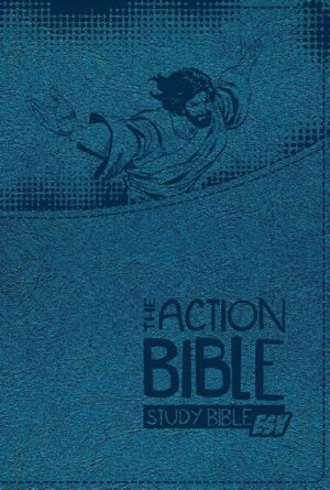 ESV Action Bible Premium Boys Edition-Blue Virtual
