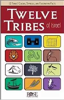 Twelve Tribes Of Israel (Pack Of 5)