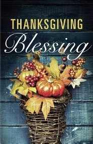 Tract-Thanksgiving Blessing (ESV) (Redesign) (Pack Of 25) (Pkg-25)