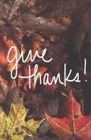 Tract-Give Thanks! (ESV) (Redesign) (Pack Of 25) (Pkg-25)