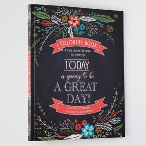 Adult Coloring Book-Today Is Going To Be A Great D
