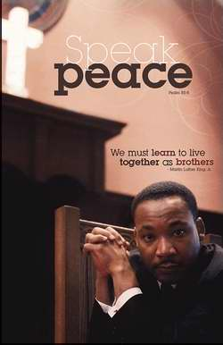 Bulletin-Speak Peace/Martin Luther King (African-American)-Legal Size (Pack Of 50) (Pkg-50)