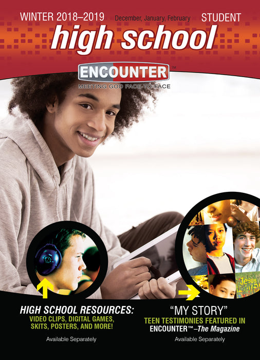 Encounter Winter 2018-2019: High School Student Guide (#6272)