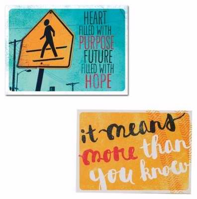 Note Card-Graduation Thank You-Philippians 1:3 NIV & Psalms 138:8 NIV (Pack Of 50) (Pkg-50)