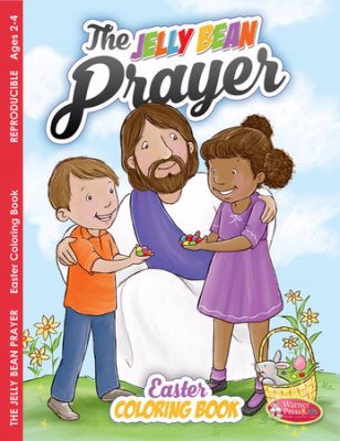 Jelly Bean Prayer Easter Coloring Book