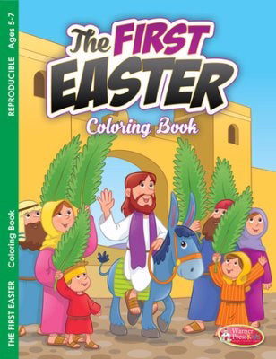 First Easter Coloring Book