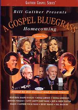 DVD-Homecoming: Gospel Bluegrass V2