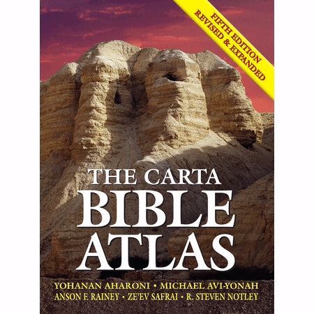 Carta Bible Atlas (5th Edition) (Revised & Expanded)