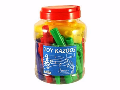Instrument-Kazoos w/Display (Pack Of 40) (Pkg-40)
