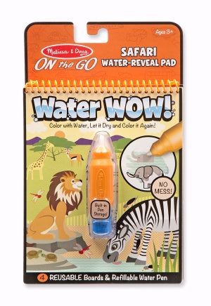 Water Wow!: Safari Activity Book (Ages 3+)