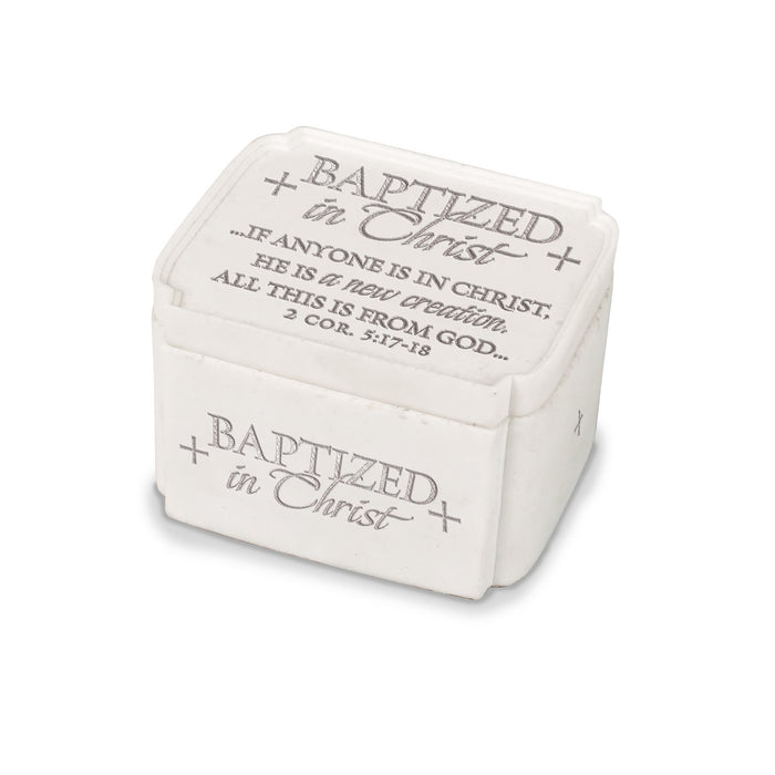 Keepsake Box-Baptized In Christ (#40266)