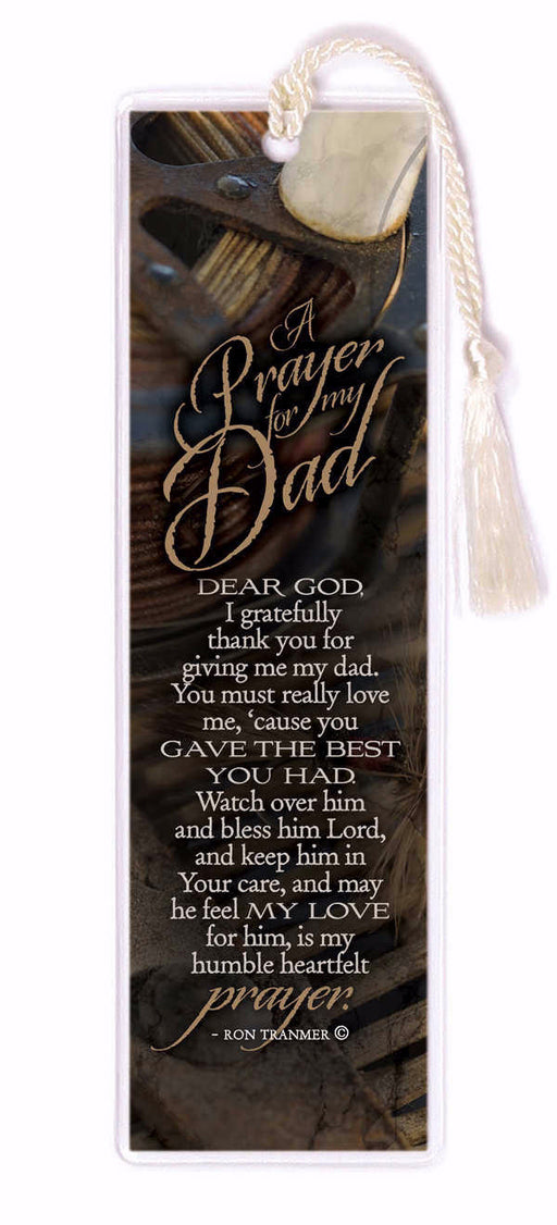 Bookmark-A Prayer For My Dad