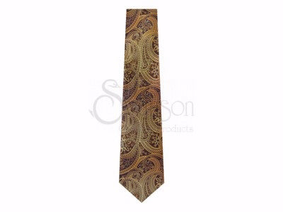 Tie-Paisley Fish-Polyester