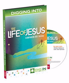 DVD-Dig In: Life Of Jesus Companion DVD-Holiday