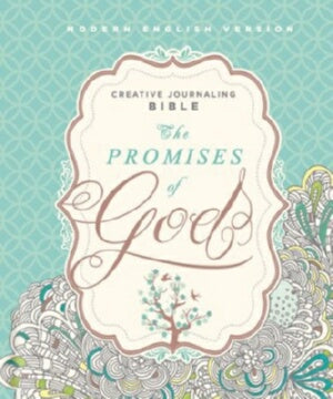 MEV Promises Of God Creative Journaling Bible-Hard