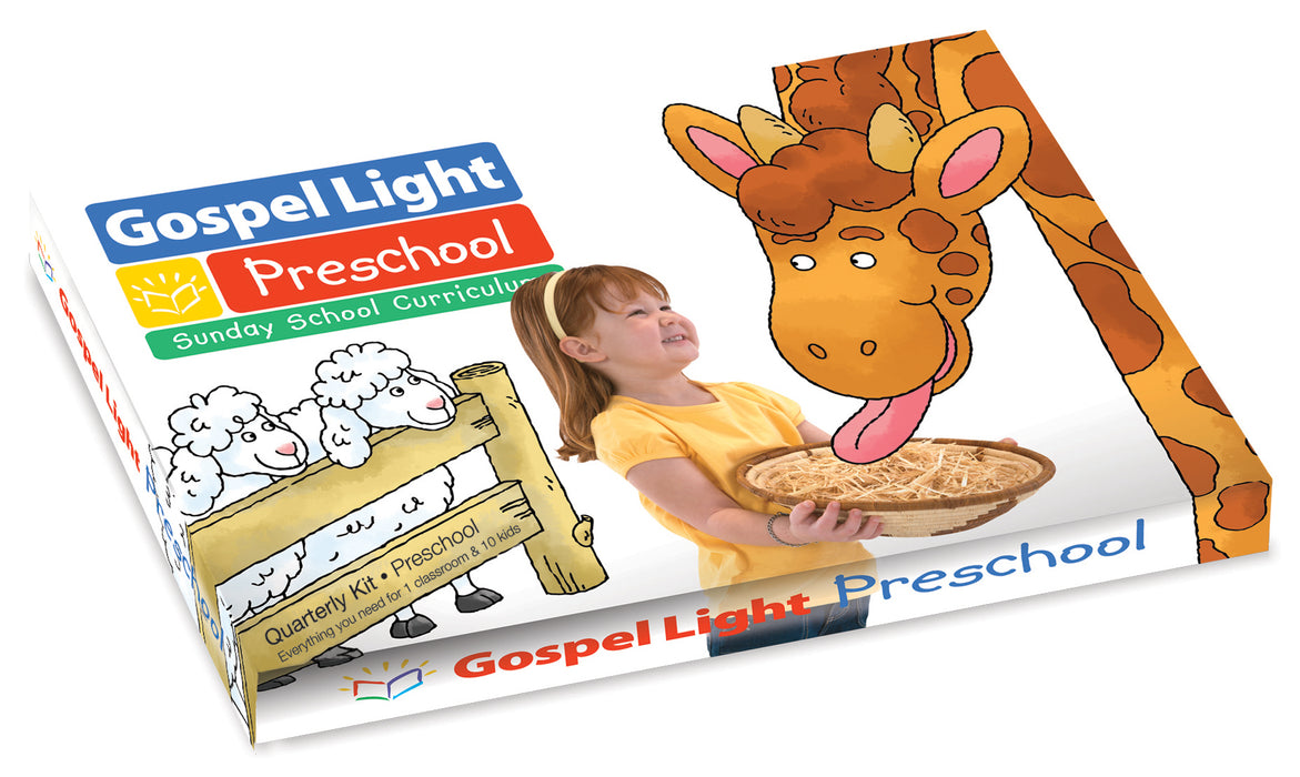 Gospel Light Winter 2018-2019: Preschool Teacher's Classroom Kit (Ages 2-3)-Year B (#2206)