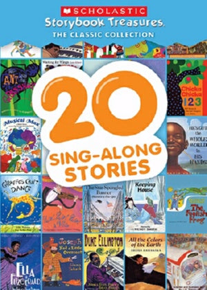 20 Sing-Along Stories (Scholastic Storybook Tr DVD