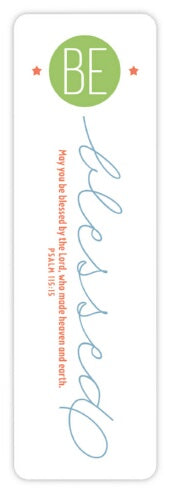 Bookmark-Be Blessed (#51011)