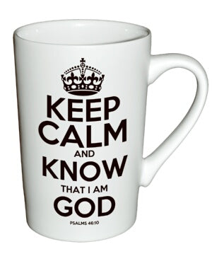 Mug-White Matte-Keep Calm