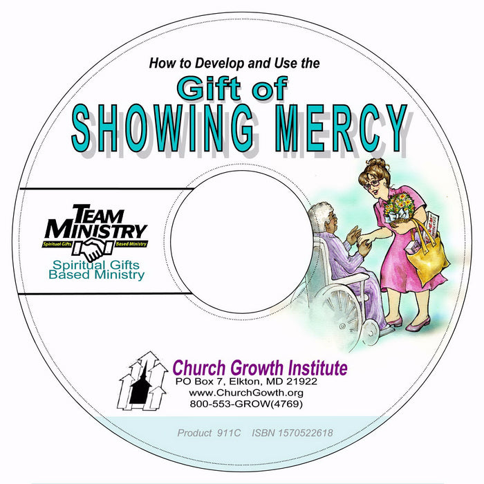How To Develop And Use The Gift Of Showing Mercy, PDF On CD