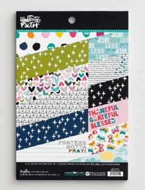 Bible Journaling-Paper Pad-Give Me Jesus (24 Sheet
