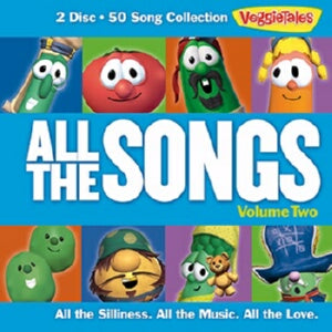 Audio CD-Veggie Tales: All The Songs V2