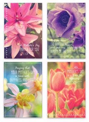 Card-Boxed-Mother's Day-Florals Assortment (Box Of 12) (Pkg-12)
