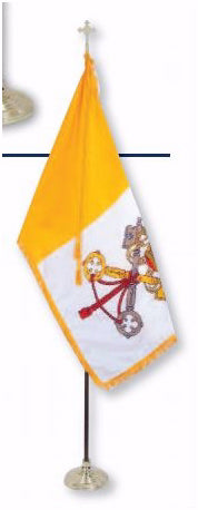 Flag-Papal-Durawavez Outdoor Nylon (3 x 5)