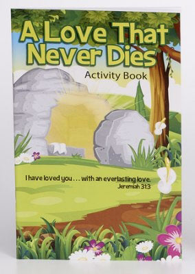 A Love That Never Dies Activity Book