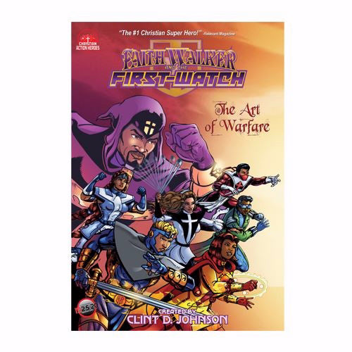 Graphic Novel-Faith Walker And The First Watch