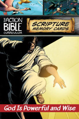 ESV The Action Bible Scripture Memory Cards Q1 (#143901)