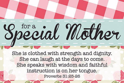 "Cards-Pass It On-For A Special Mother (3""x2"") (Pack of 25) (Pkg-25)"