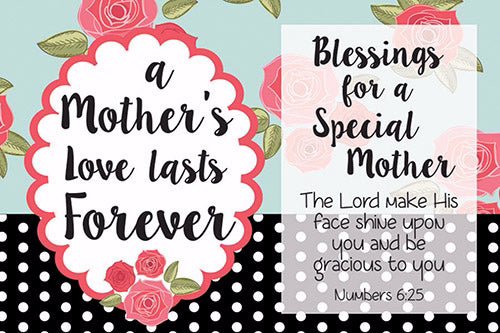 "Cards-Pass It On-Mother's Love Lasts (3""x2"") (Pack of 25) (Pkg-25)"