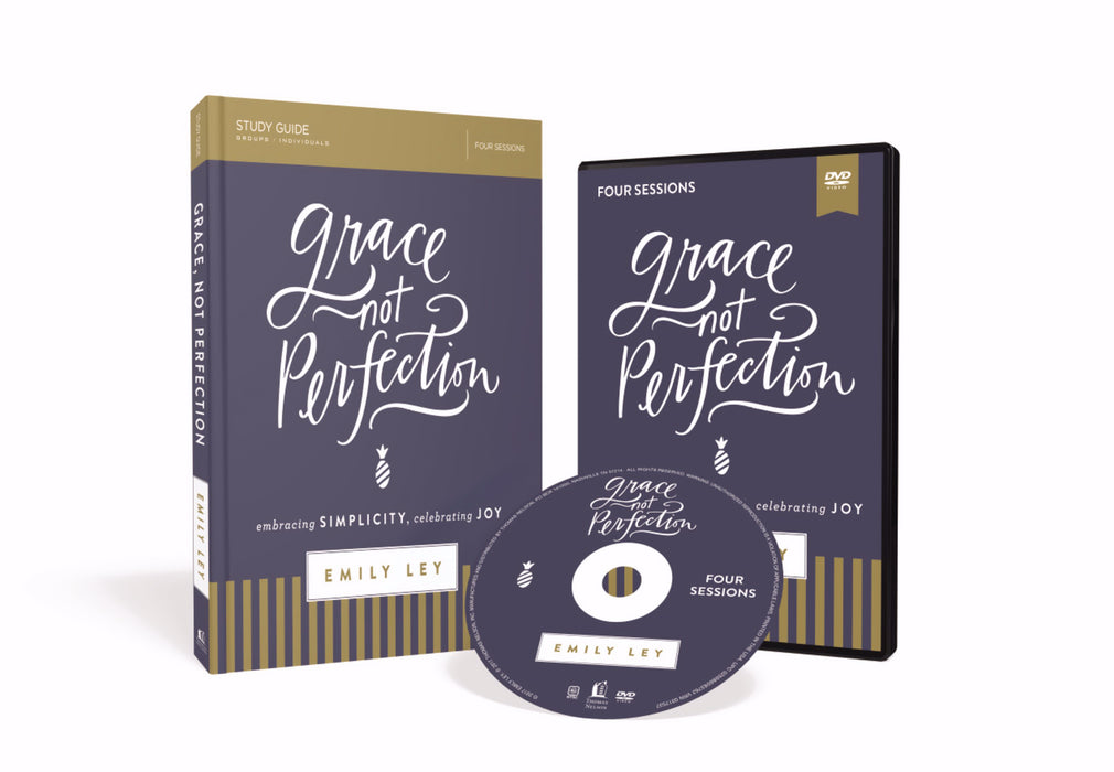 Grace, Not Perfection Study Guide w/DVD (Curriculum Kit)