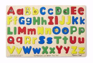 Upper And Lower Case Alphabet (52 Pieces) Puzzle