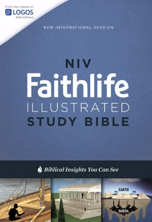 NIV Faithlife Illustrated Study Bible-Hardcover