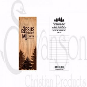 Bookmark-Jesus Loves Me (Pack Of 25)