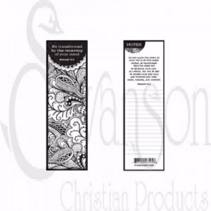 Bookmark-Be Transformed (Color Me!) (Pack Of 25)