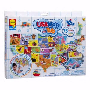 USA Map In The Tub (Ages 3+)