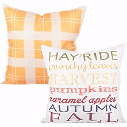 Pillow-Hay Ride (17 x 17)