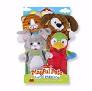 Hand Puppet Set-Playful Pets (Ages 2+)