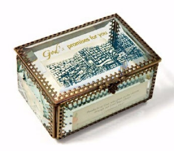 Promise Box-God's Promises For You w/120 Cards In