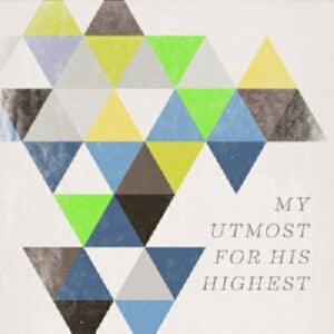 Audio CD-My Utmost For His Highest (2017)