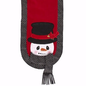 "Snowman Table Runner (108"" x 13"")"