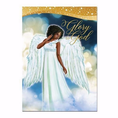 Card-Boxed-Glory To God #C938 (Christmas) (Box Of 15) (Pkg-15)