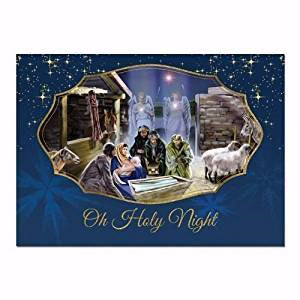 Card-Boxed-O Holy Night #C940 (Christmas) (Box Of 15) (Pkg-15)