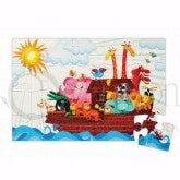 Noah's Ark/Magnetic (Pack Of 6) Puzzle
